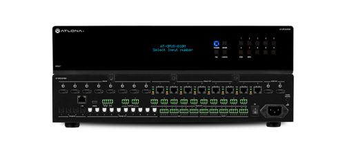 Atlona 6 by 8 HDMI to HDBaseT 4K HDR Matrix Switcher (AT-OPUS-68M)