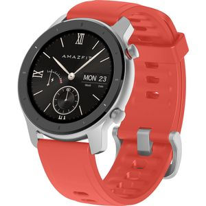 Amazfit GTR-42mm Coral Red Factory Sealed (W1910TY5N)