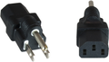 MICROCONNECT Power Adapter C13 to USA/JAPAN