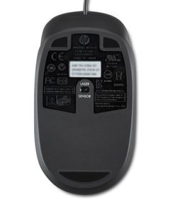 HP LASER-MOUSE USB 2-BUTTONS 1000DPI / BULK PACK 100 ST.      IN PERP (QY778A6)