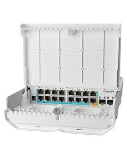 MIKROTIK netPower 15FR with RouterOS L5 (CRS318-1FI-15FR-2S-OUT)