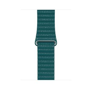 APPLE 44mm Peacock Leather Loop Large (MXPN2ZM/A)