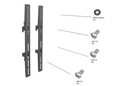 MULTIBRACKETS M Pro Series - Fixed Arms 400mm (7350073733736)