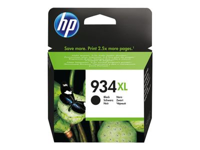 HP 934XL original ink cartridge black high capacity 1.000 pages 1-pack Blister multi tag (C2P23AE#301)