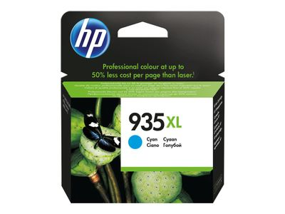 HP 935XL original ink cartridge cyan high capacity 825 pages 1-pack Blister multi tag (C2P24AE#301)