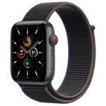APPLE WATCH SE GPS+CELL 44MM SG ALUM W CHARCOAL SP LOOP ACCS (MYF12KS/A)