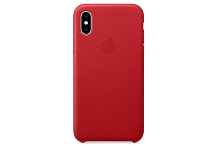 APPLE APPLE IPHONE XS LEATHER CASE RED MRWK2ZM/A ACCS (MRWK2ZM/A-OM)