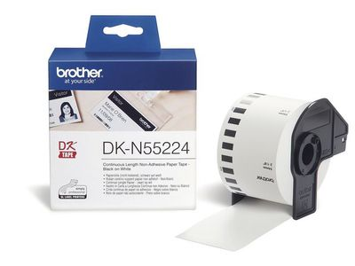 BROTHER ribbon black/ white 54 mm (DKN55224)