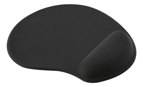 DELTACO OFFICE Mouse pad with wrist rest in gel, answer (DELO-0207)