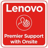LENOVO 3Y Premier Support with Onsite NBD Upgrade from 1Y Onsite