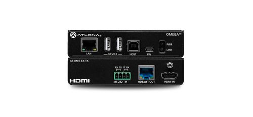 Atlona Omega 4K/UHD HDMI Over HDBaseT Transmitter with USB, Control and PoE (AT-OME-EX-TX)
