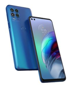 MOTOROLA G100 XT2125-4 QC-SD870 6.7inch 8GB 128GB 5G DS 64MP+16MB 5000mAh Turbo Pwr 20W Blue Android OS (PAM80001SE)