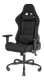 DELTACO DC220 Gaming Chair, Fabric, iron frame, Black
