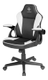 DELTACO DC120W Junior Gaming Chair, PU-leather,  Black/ White