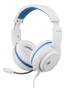 DELTACO Stereo Gaming Headset for PS5, 1x 3.5mm connector, white