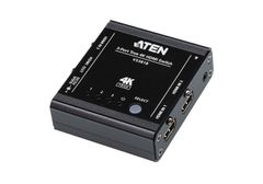 ATEN 3-Port True HDMI Switch with IR Control and Pass-Through