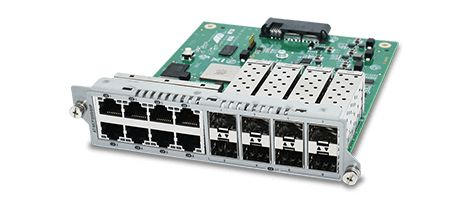 Allied Telesis TAA (FEDERAL) 8X100/ 1000MB SFP 10/ 100/ 1000T BLADE FOR MCF3300 ACCS (AT-MCF3000/8SP)