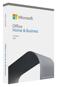MICROSOFT MS Office Home and Business 2021 English P8 EuroZone 1 License Medialess (EN) (T5D-03511)