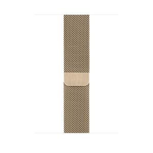 APPLE 44mm Gold Milanese Loop (MYAP2ZM/A)