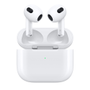 APPLE AirPods 3.gen Adaptive EQ, spatial audio, MagSafe, trådløst lading, IPX4