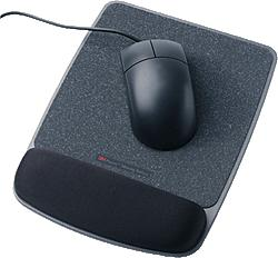 3M Mouse Pad Gel Wrist Rest Black Retail (WR421               )