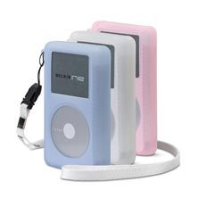 BELKIN SPORT JACKET 3PK F/ IPOD 4G/20GB (BLUE-WHITE-PINK) NS