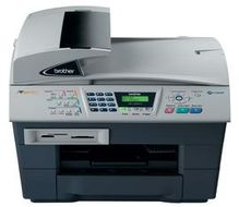 BROTHER MultiFunction Network Flatbed Print/ Fax/ Copy/ Scan/ PCC USB/Ether 1200x6000 (MFC5840CNZP1)