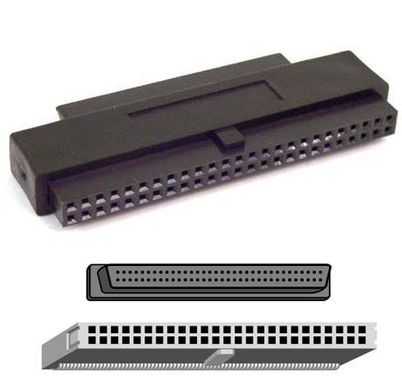 SCSI III/SCSI I INT ADPTR MDB68S/ 50SOK INTERNAL NS
