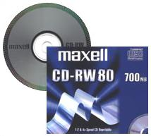 CD-RW 80 700MB MUSIC SILVER JEWELCASE 10-PACK NS