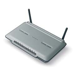 ADSL Modem with Wireless-G Router