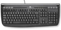 LOGITECH INTERNET 350 KB BL PS/2 OEM FI