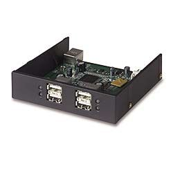 HI-SPEED USB 2.0 4-PORT DRIVE BAY HUB IN