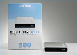 FREECOM Mobile Drive 2.5 250GB USB+FW (29408)