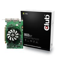 CLUB 3D GF 8600GT 512MB GDDR3 OVERCLOCK PCI-E DUAL-DVI TV RETAIL IN (CGNX-G862DD)