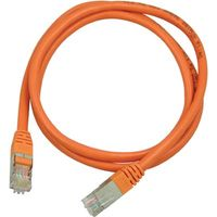KABEL TP STP CAT.6 SKÄRMAD RJ45  7.0M ORANGE