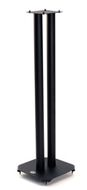 B-TECH BT608 Atlas Høyttaler Stativer, Sort, 80cm, Spikes, Leveres som par (BT608B (4469))