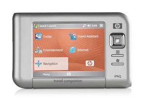 HP iPAQ rx5725 Travel Companion