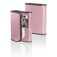 iPOD NANO 3G LTHR FOLIO * CAMEO PINK/ CHOCOLATE