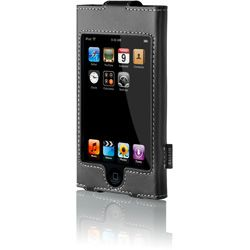 iPOD TOUCH LEATHER SLEEVE * BLACK