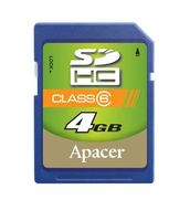 APACER SDHC Secure Digital High Capacity Class2 4.0GB Retail (AP4GSDHC2-R)