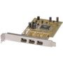 ST LAB IO FireWire PCI 3 port IEEE 1394a w/Software+Cable