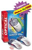 MOUSE NETSCROLL OPTICAL PS/2 + USB