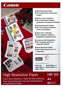 CANON HR-101N HIGH RES PAPER A4 50 SHEET NS (1033A002)