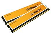 DDR2 BallistiX PC8500 2048MB CL5 ,Kit w/two matched BallistiX 128Megx64
