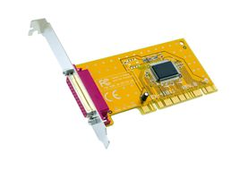 CC I/O-Card 1 Port Parallell PCI 32BIT Bidirectional (EX-41011)