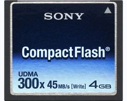SONY Compact Flash Card 4GB,