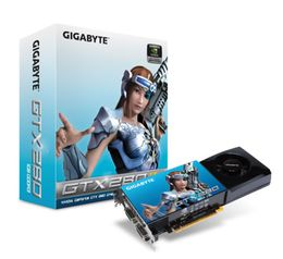 GIGABYTE GeForce GTX 280 1GB