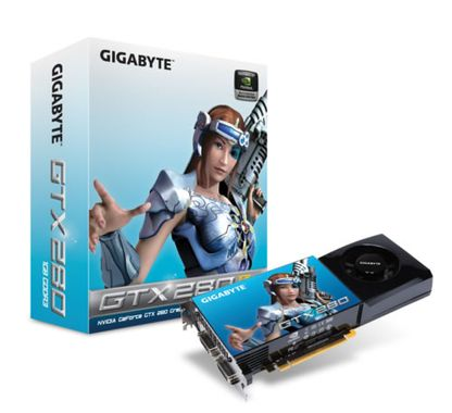 GeForce GTX 280 1GB GDDR3, PCI-Express 2.0, 2xDVI/ HDCP,  512bit