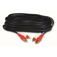 DUAL GOLD PHONO CABLE RCA RED/WHT; 3M NS