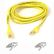 BELKIN CAT 5 PATCH CABLE 50CM MOULDED SNAGLESS YELLOW UK